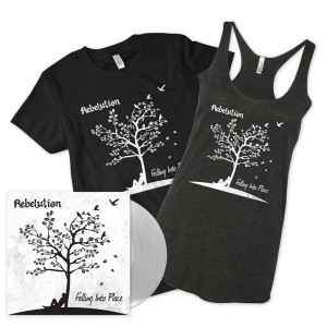 Falling Into Place LP + MP3 + Shirt