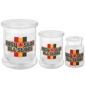 Easy Star All-Stars Glass Storage Jars