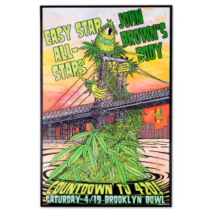 Easy Star All-Stars / John Brown's Body Countdown To 4/20 Poster