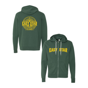Easy Star Records Circle Logo Zip Up Hoodie