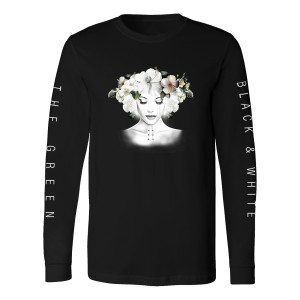 The Green - Unisex Black & White Cover Long Sleeve Shirt
