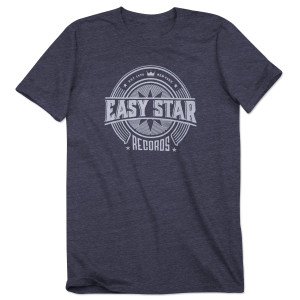 Easy Star Records Circle Logo Navy Tee Shirt