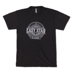 Easy Star Records Circle Logo Black Tee Shirt