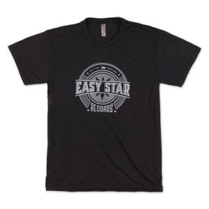 Easy Star Records Circle Logo Black Tee Shirt