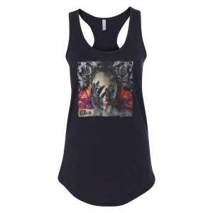 The Green - Women's Album Cover Tank
