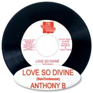 "Anthony B ""Love So Divine"" 7"" Vinyl Single"