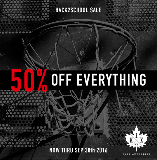 BACK2SCHOOL Sale - 50% Off Everything!