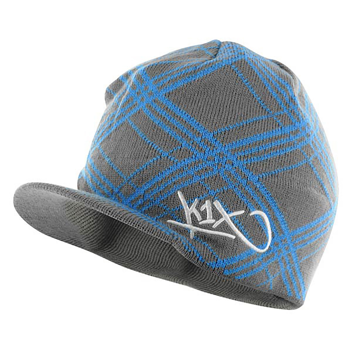 check it out ribbed shield beanie