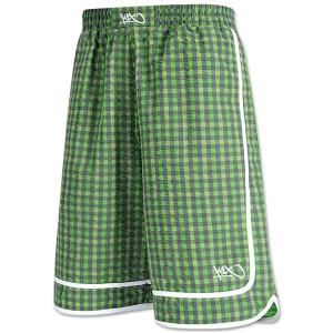 vichy reversible shorts