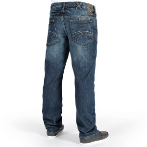 basic medium full cut jeans