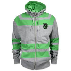 rugby zipper hoody