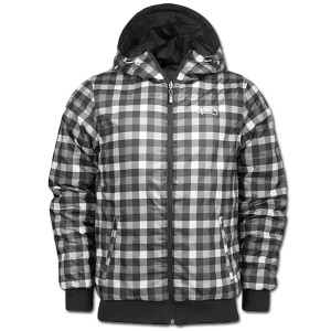 reversible ksabak check jacket