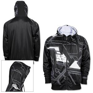 big block hooded jacket