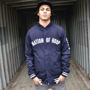 Nation of Hoop Bomber Jacket