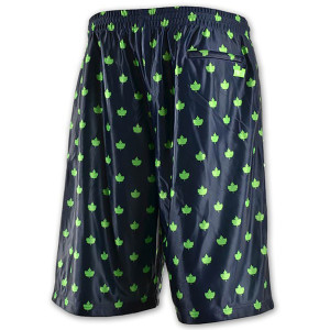 core allover dazzle shorts