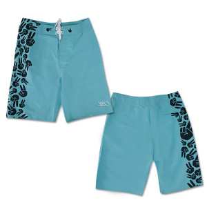 on that note boardshort