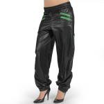 shorty zipper sweatpants