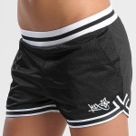 shorty double x mesh shorts