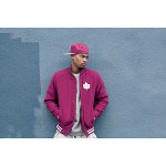 melton wool varsity jacket