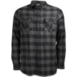 tonal check this shirt
