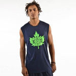 core leaf sleeveless t-shirt