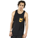 roar pocket tank top