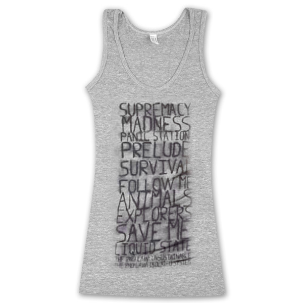 Muse Songs Bleed Junior Tank