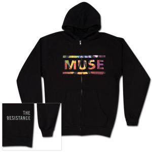 Muse Album Overlay Zip Hoodie