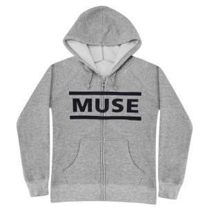 Muse Logo Type Zip Hoodie
