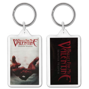 Bullet For My Valentine Temper Temper Keychain