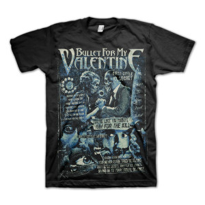Bullet For My Valentine Dirty Little Secret T-Shirt