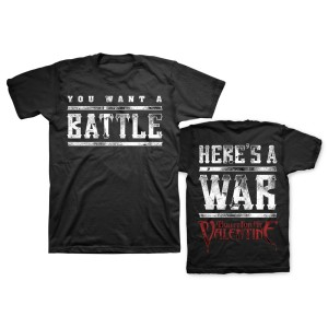 Bullet For My Valentine Here's A War T-Shirt