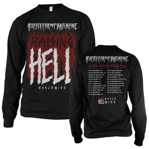 Raising Hell Longsleeve 2016 Tour T-Shirt