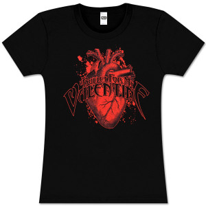 Bullet For My Valentine Arch Logo Heart Women's T-Shirt