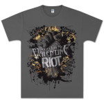 Bullet For My Valentine Set the Fires Riot Tshirt