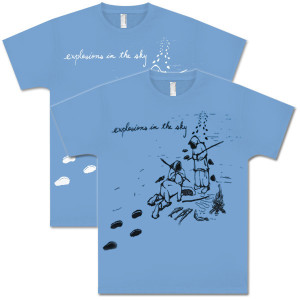 Explosions In The Sky Baby Blue Eskimo T-Shirt