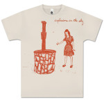 Explosions In The Sky Crème Wishing Well T-Shirt
