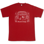 Explosions In The Sky Maroon Magic Show T-Shirt