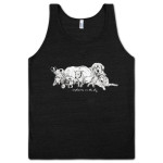 Explosions In The Sky Charcoal Dogs Tank Top