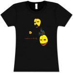Explosions In The Sky Women's Black Tribal Mask T-Shirt