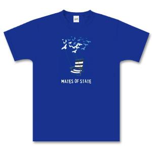 Royal Blue Deck Chair T-Shirt