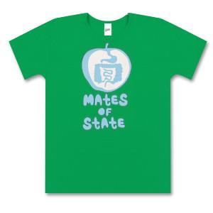 Ladies Kelly Green Apple T-Shirt