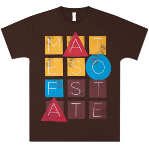 Mates Of State Men's Blocks T-Shirt