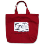 Mates of State Red Canvas Tote Bag