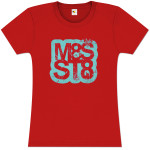 Mates of State Women's M8S ST8 Logo T-Shirt