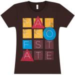 Mates Of State Women's Blocks T-Shirt