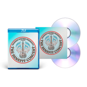 CD/DVD + Blu-Ray Bundle: The Benefit Concert V. 16