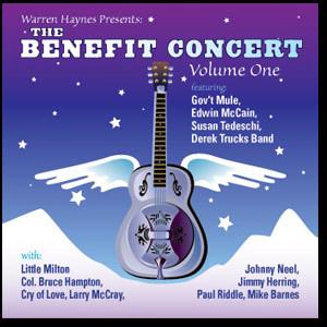 Warren Haynes Presents: The 1999 Benefit Concert Volume 1 2-CD Set