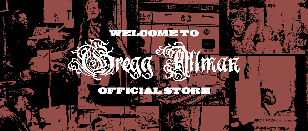 Welcome to the Gregg Allman Store