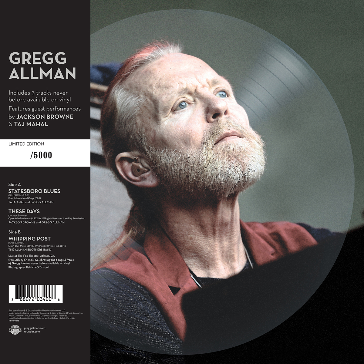 Southern Blood Picture Disc